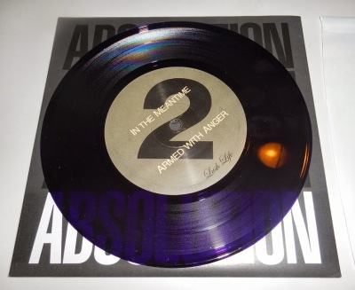 absolution 7 inch purple vinyl lush life records reissue
