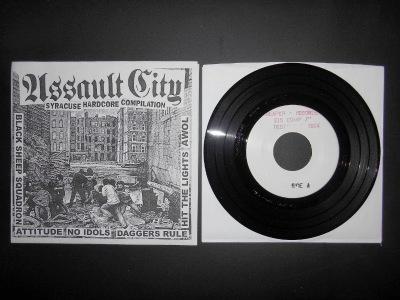 various artist syracuse hardcore assault city test press compilation