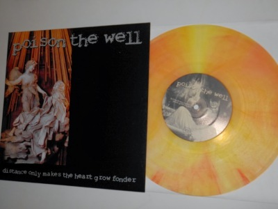 poison the well distance makes the heart grow fonder 10 inch vinyl peach god life records