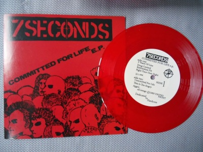 7 seconds vinyl ep 7 inch committed for life