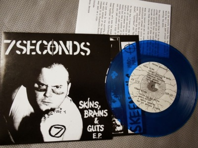 7 seconds skins brains guts ep vinyl reissue