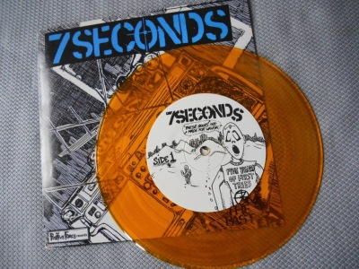 7 seconds blasts from the past 7 inch ep reissue vinyl