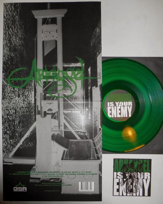 arkangel is your enemy vinyl lp green gsr