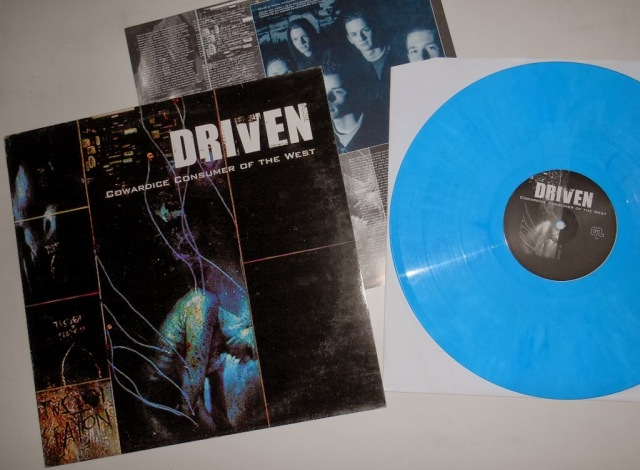 driven cowardice consumer of the west lp color limited edition good life recordings vinyl