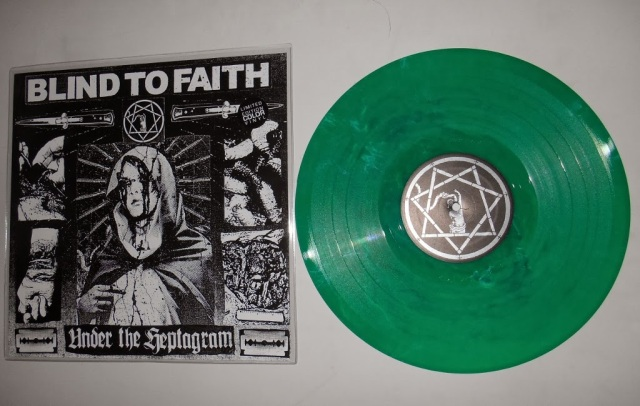 blind to faith LP vinyl under the heptagram