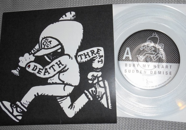 death threat lost at sea limited edition clear vinyl pre order reaper records