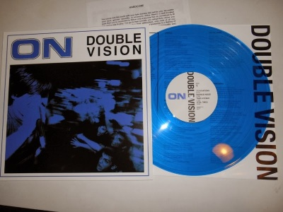 ON double vision lp blue vinyl control vital times