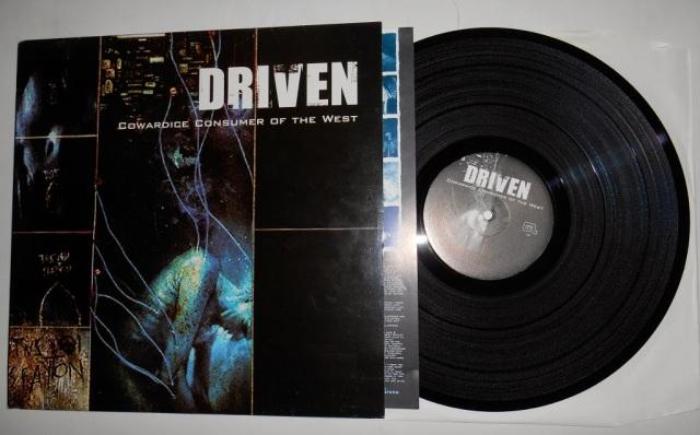 driven vinyl lp cowardice consumer of the west good life recordings black vinyl