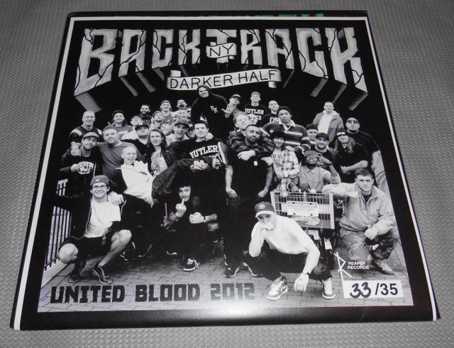 backtrack darker half limited edition united blood 2012 LP vinyl