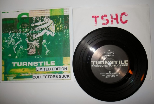 turnstile limited edition collectors suck pressure to succed 7 inch reaper record vinyl