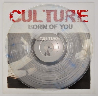 culture born of you LP sxe 90 clear vinyl good life recordings