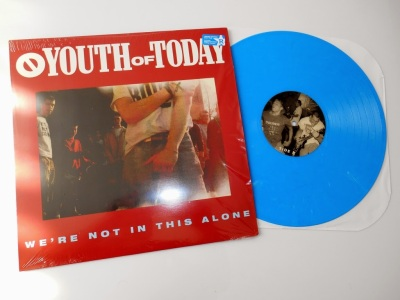 youth of today we're not in this alone lp revelation records reissue caroline