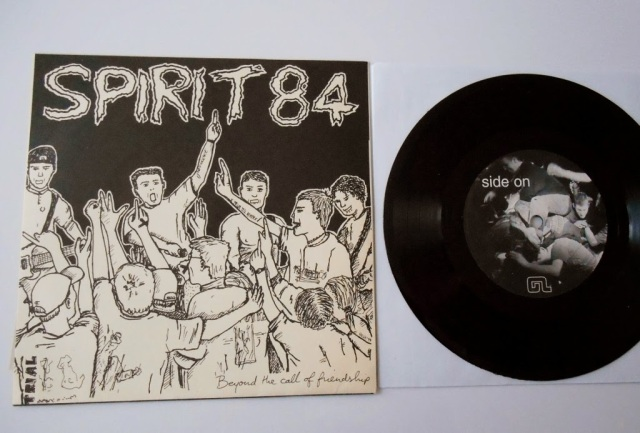 spirit 84 hardcore vinyl 7 inch beyond the call of friendship good life
