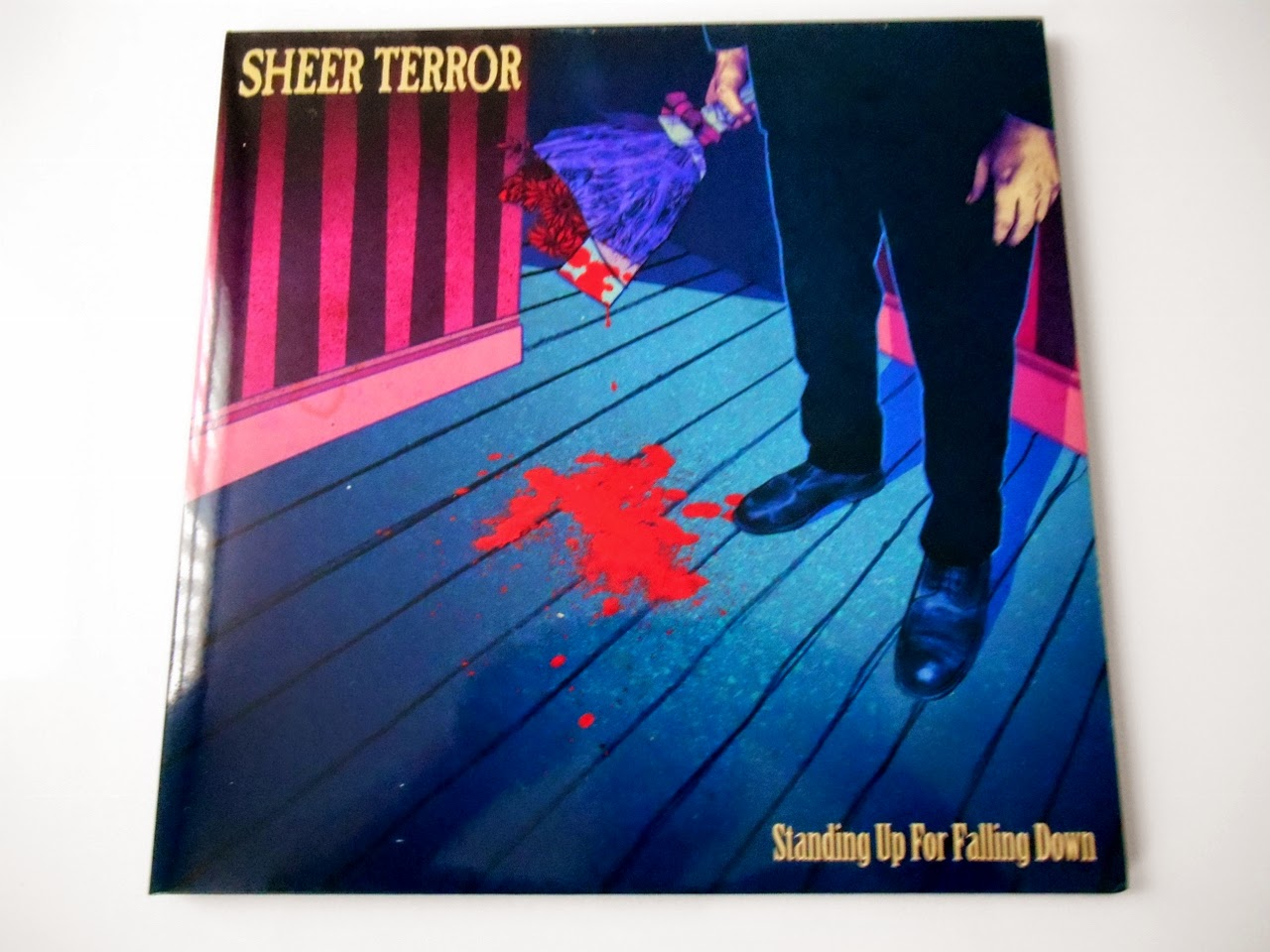 sheer terror standing up for falling down Lp reaper records nyhc
