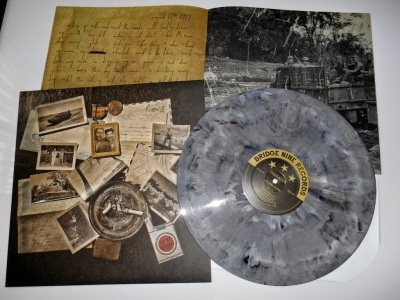 Defeater Letters home LP grey vinyl Bridge 9 nine