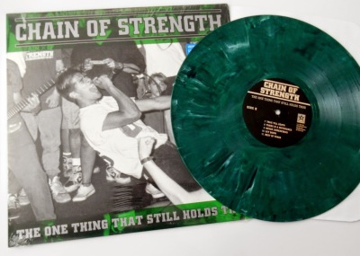 Chain Of Strength LP green vinyl reissue Revelation Records