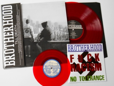 Brotherhood LP reissue Till Death red vinyl