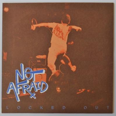 Not Afraid locked out LP vinyl orange vinyl react! Records powered
