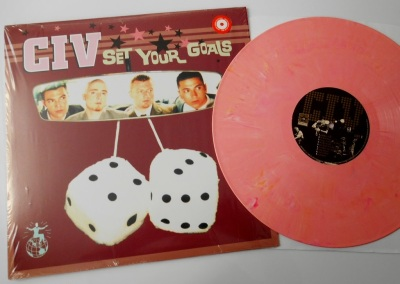 CIV Set Your Goals LP pink vinyl Revelation Records
