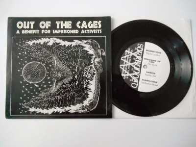 various artists out of cages benefit compilation surrounded records