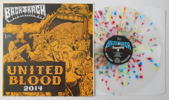 Backtrack darker half united blood 2014 limited vinyl edition reaper records LP
