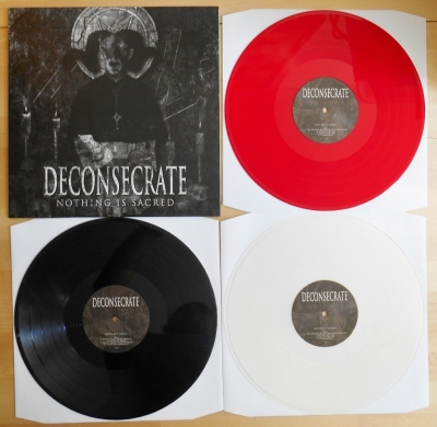 Good Life recordings color vinyl Deconsecrate Nothing Is Sacred