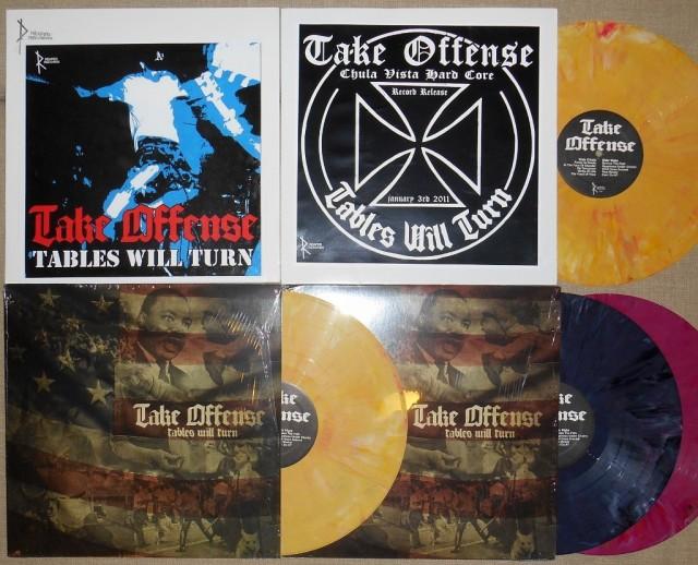 reaper records test press release show vinyl color