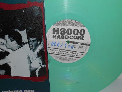 numbered limited mint green vinyl
