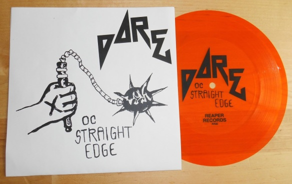 Dare Orange County Straight-Edge – Records With History And