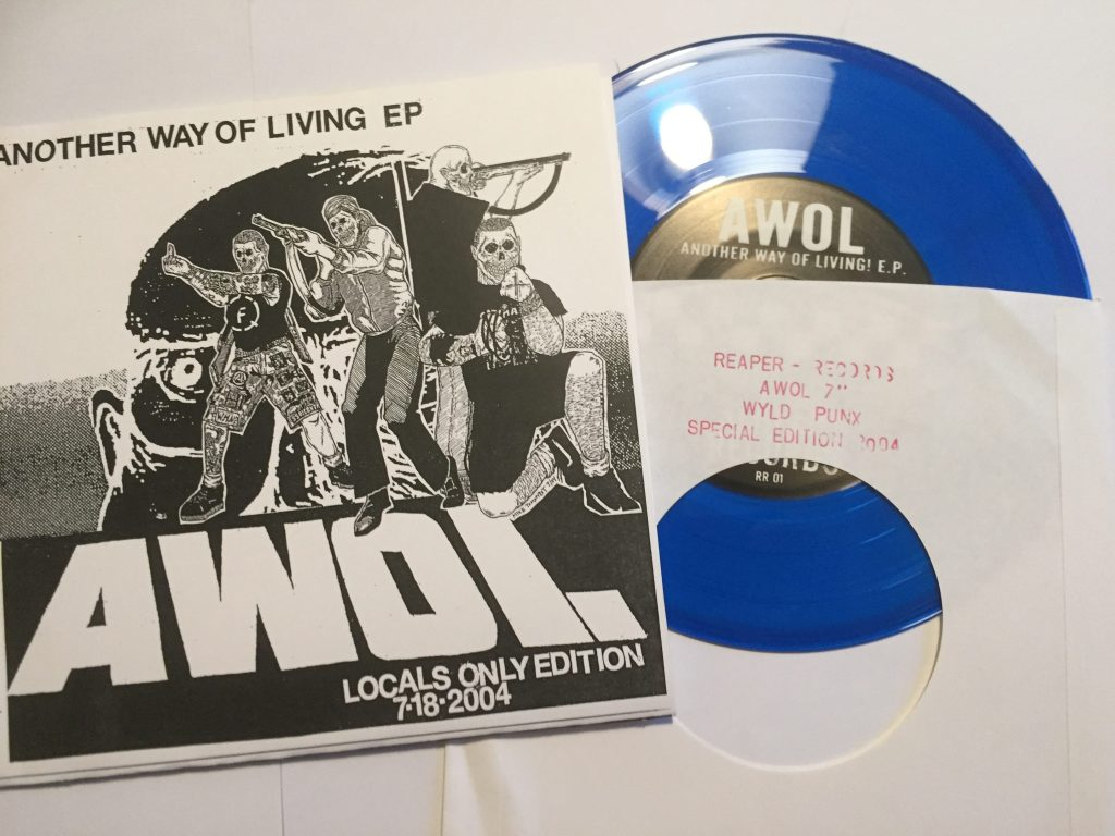 another way of living 7 inch locals only reaper records