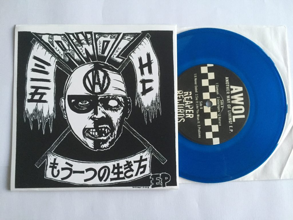another way of living 7 inch zombie cover reaper records