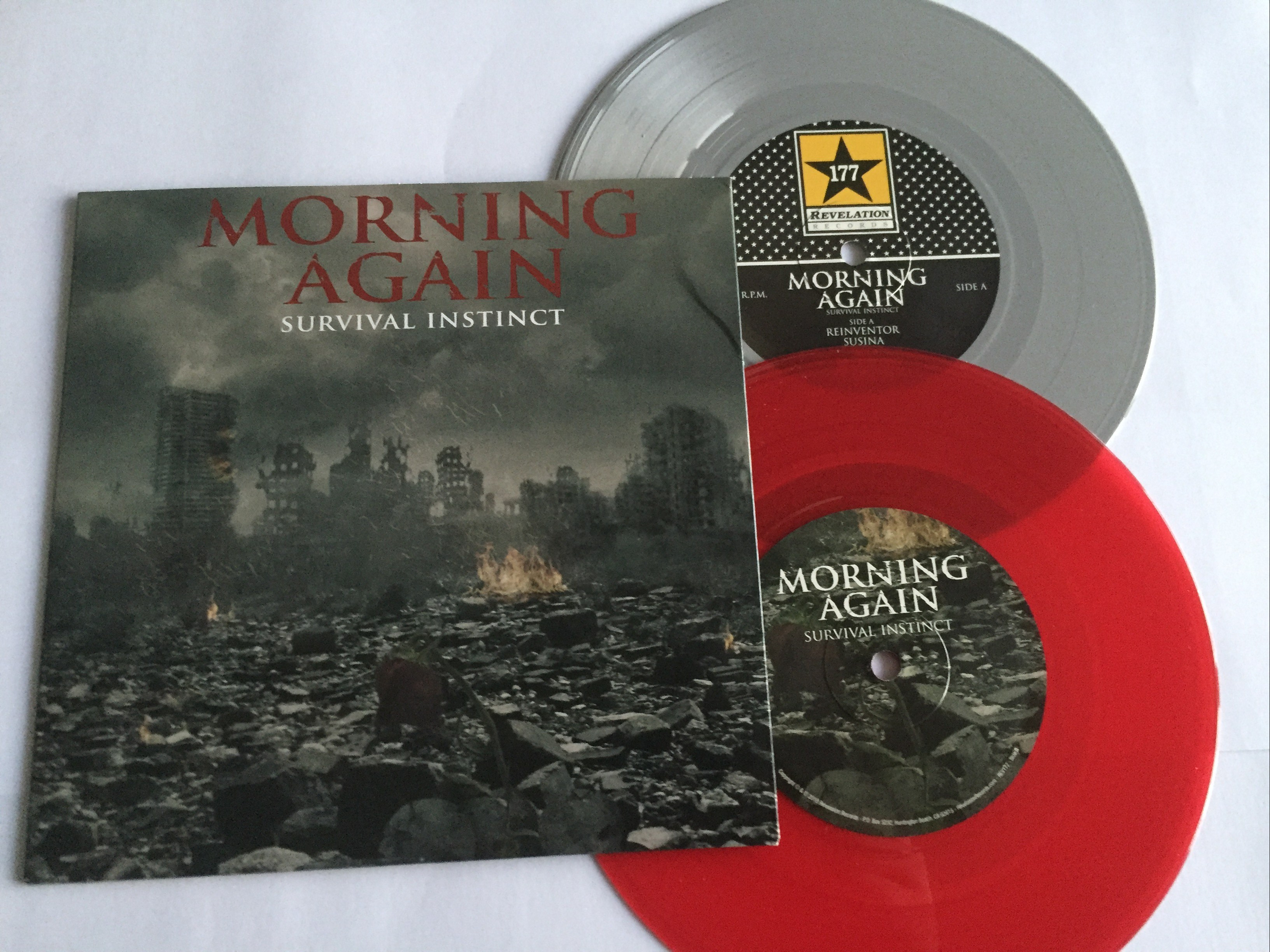 morning again survival instinct revelation records