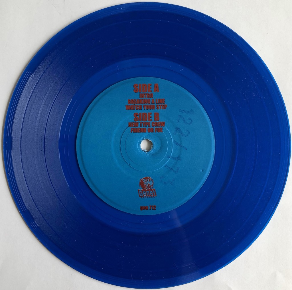 product watch your step blue vinyl pressing information