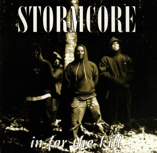 Stormcore In For the kill compact disc artwork version one