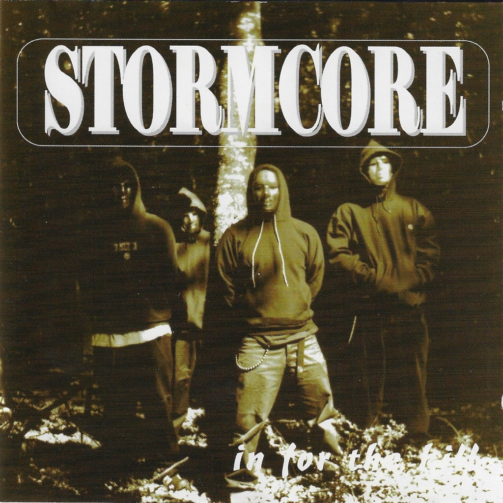 Stormcore In For the kill compact disc artwork version two